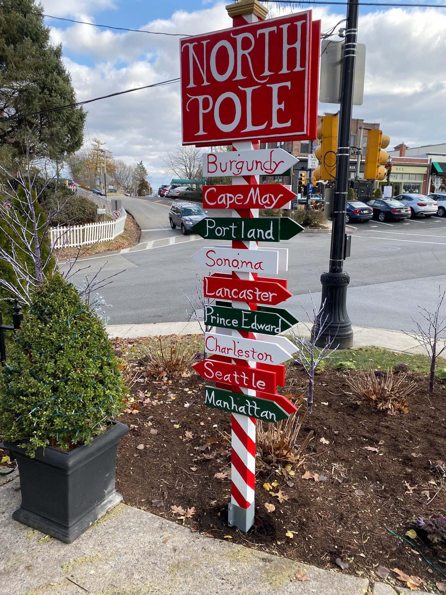 Custom North Pole - Christmas Sign 2019
