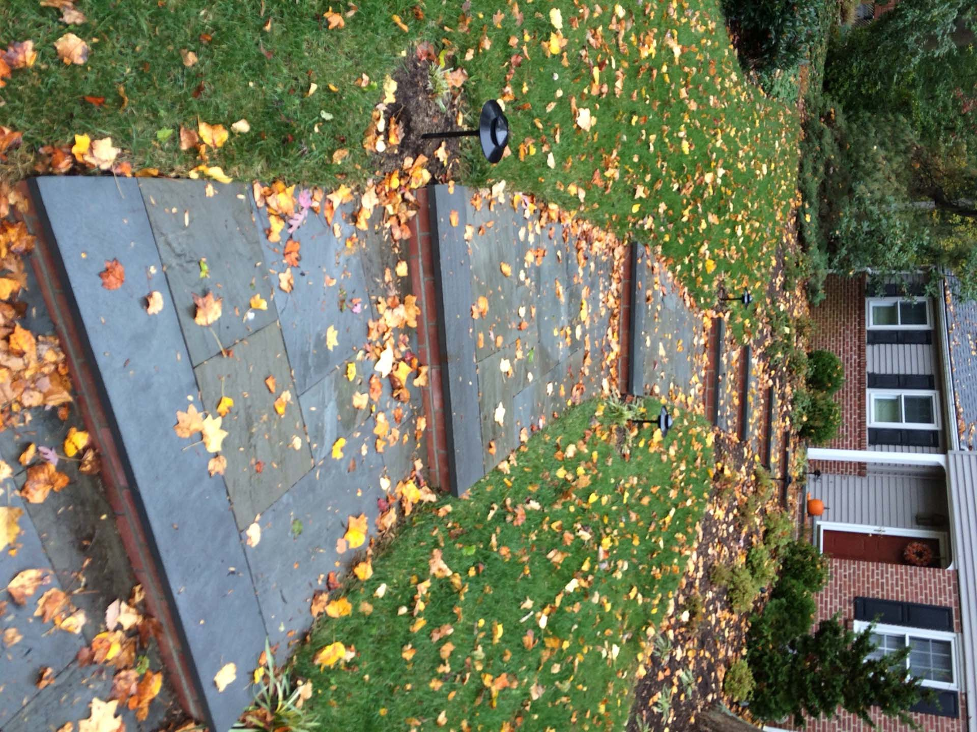 Random Flagstone Walk Steps and Brick Risers