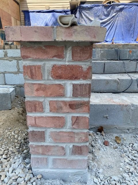 Brick Piers