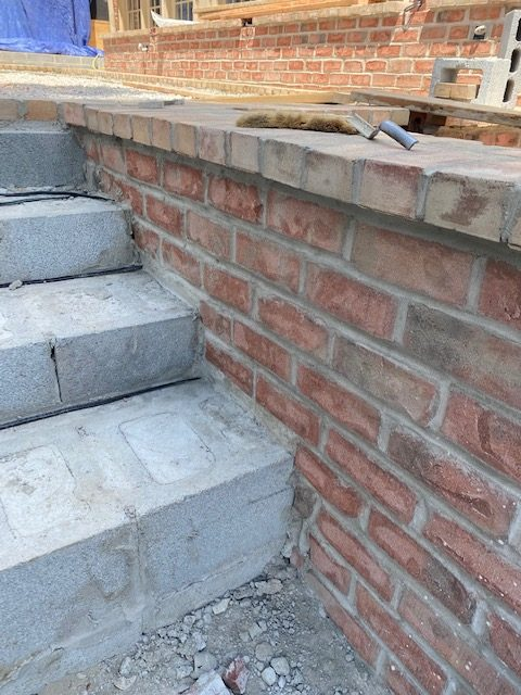 Brick Stair Well